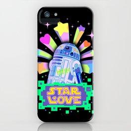 R2-D2 Star Love iPhone Case