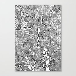 love ,kiss,sex Canvas Print
