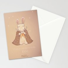 Christmas creatures- Bunny The Magician Stationery Cards
