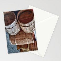 Barrels at Mystic Stationery Cards