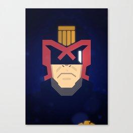 Dredd / Judge Dredd Canvas Print