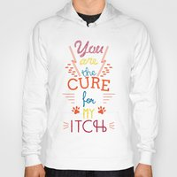 the cure Hoodies featuring The Cure by Rendra Sy