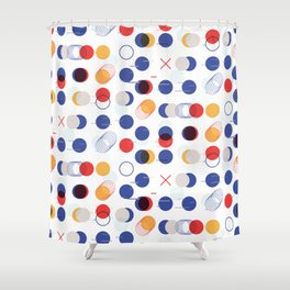 Fast Moving Parts Shower Curtain