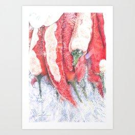 Frozen Heat Art Print