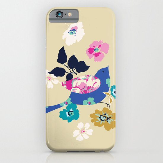 Birds and Blooms 2 iPhone & iPod Case