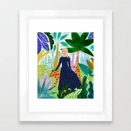Safari #society6 #decor #buyart Framed Art Print