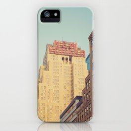 Vintage New Yorker iPhone Case