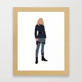 Agent 13 Framed Art Print