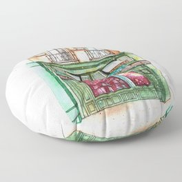 Bakery Floor Pillow