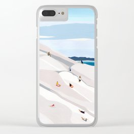 Sand Dunes Clear iPhone Case