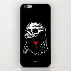Freddy, the loving Skullghost iPhone & iPod Skin