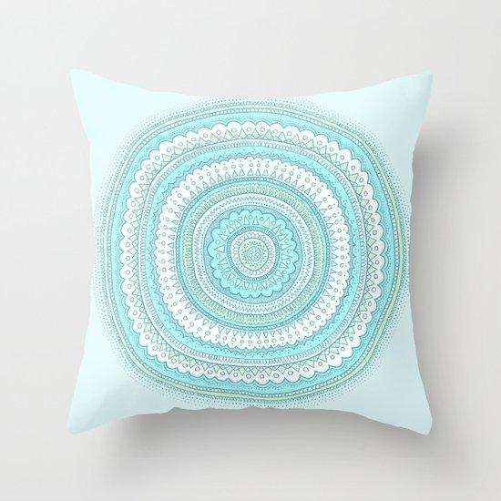 Dreamy Carousel Throw Pillow