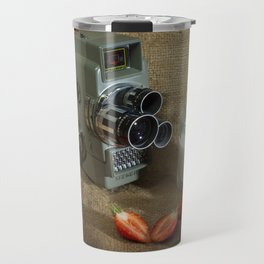 Sekonic and Strawberries Travel Mug