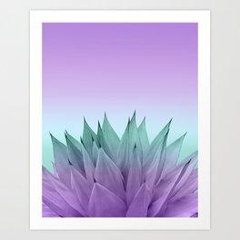Agave Vibes #7 #tropical #decor #art #society6 Art Print