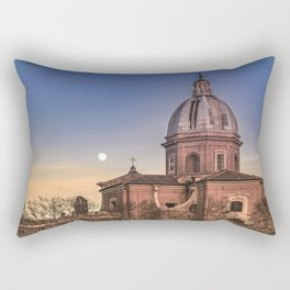 San Giovanni Battista dei Fiorentini Church, Rome, Italy Rectangular Pillow