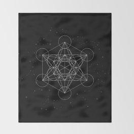 Sacred Geometry Throw Blanket