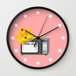 Microwave Love Wall Clock
