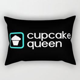 Cupcake Queen (Blue) Rectangular Pillow