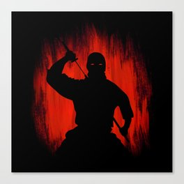 Ninja / Samurai Warrior Canvas Print