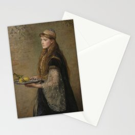 John Everett Millais - The Captive (Ruby) Stationery Cards