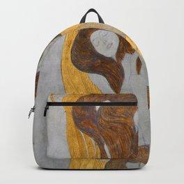 Gustav Klimt - Die Künste Backpack