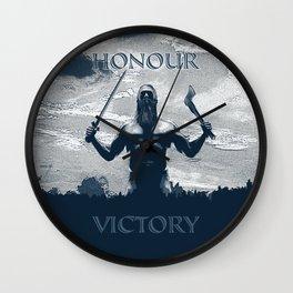 Viking Honour Wall Clock