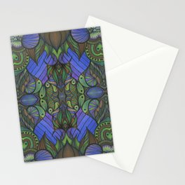 Of Fish and Feathers Repitition 1 Stationery Cards