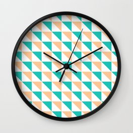 Simply Triangles Wall Clock