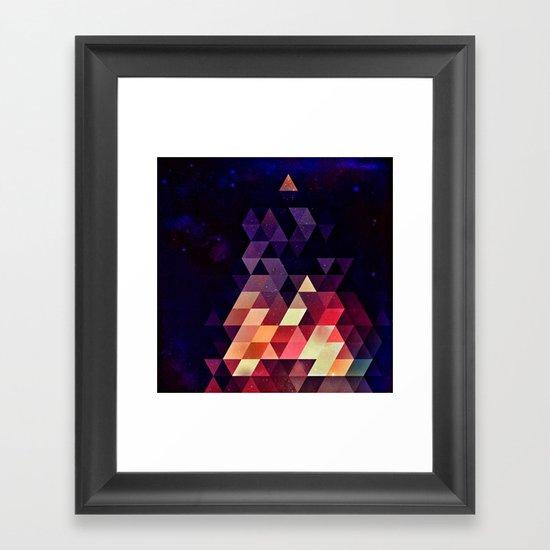 Th'tymplll Framed Art Print