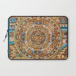 Buddhist Mandala 47 Buddha Mudra Laptop Sleeve