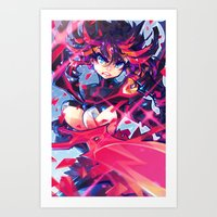 barachan Art Prints featuring matoi by barachan