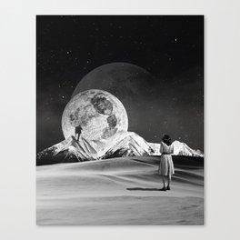 Luna-tic Canvas Print