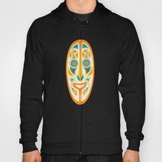 Pacific Mask Pattern Hoody