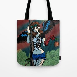 ♬♫♬ I see a bad moon a-rising... ♬♫♬ Tote Bag