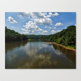 Song of the Delaware River Canvas Print