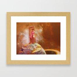Lee Hi - BI Ikon Framed Art Print