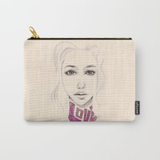 Lover not a Fighter Carry-All Pouch