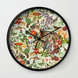Nature's Innocence I Wall Clock