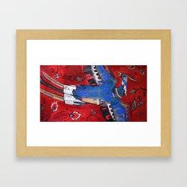 Passion Bird of Tulis Framed Art Print