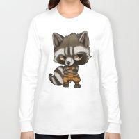rocket Long Sleeve T-shirts featuring Rocket by Kam-Fox