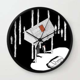 Hereditary by Ari Aster and A24 Studios Wall Clock