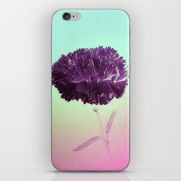 Purple Ruffles iPhone Skin
