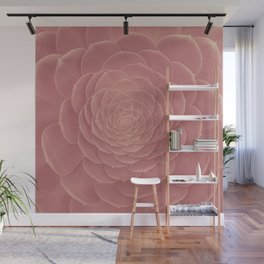 FAT PLANT PINK Wall Mural