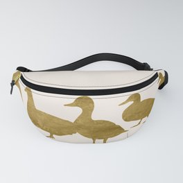 Golden Ducks Fanny Pack
