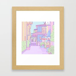 Continuously Lost in Japan Framed Art Print