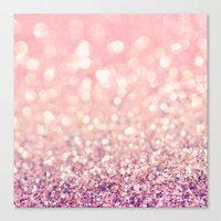 blush Canvas Prints featuring Blush by Lisa Argyropoulos