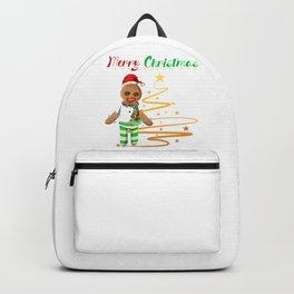 Gingerbread Boy Christmas Backpack