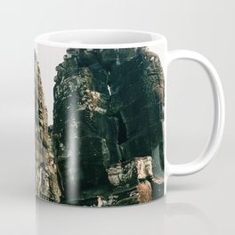 TRANSCENDENCE // The Bayon, Siem Reap, Cambodia Coffee Mug
