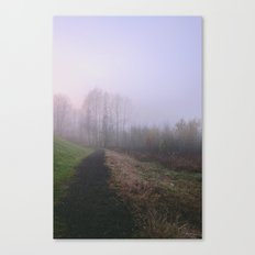 Misty Paths Canvas Print