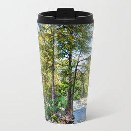 Guadalupe River - Gruene Texas Travel Mug